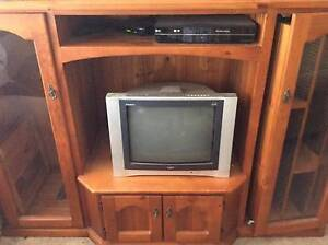 LARGE WOODEN TV UNIT Condell Park Bankstown Area Preview