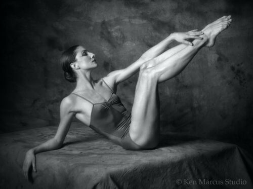 Ballet Dancer 412-125 8.5x11 B&W Signed Photo by Ken Marcus