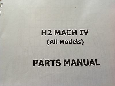 KAWASAKI H2 A B C parts catalogue KH 750 covers all H2 models.