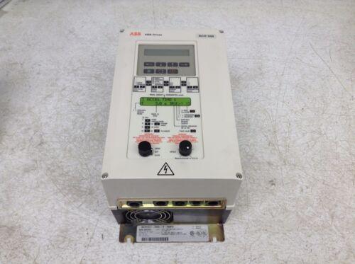 ABB ACH501-005-4-00P5 5 HP 440-500 VAC 3 PH VFD Motor Drive ACH501005400P5