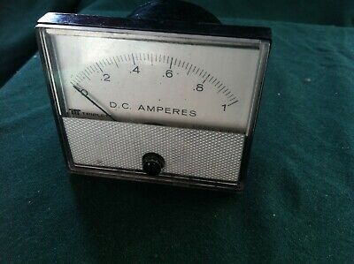 Triplett 0-1 D.c. Amperes Analog Meter Movement Model 220-g Works