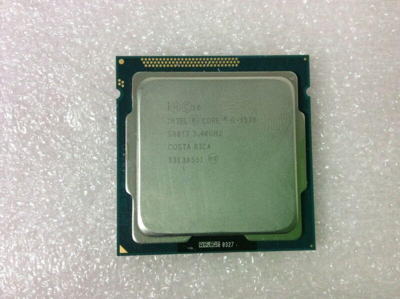 Intel® Core™ i5-3570 Processor (6M Cache, up to 3.80 GHz) SR0T7