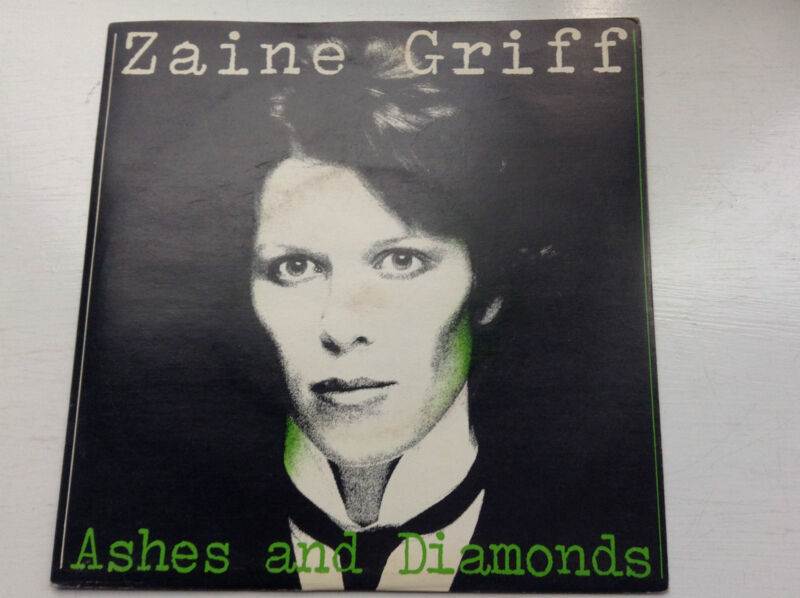 ZAINE GRIFF - ASHES AND DIAMONDS (UK PICTURE SLEEVE) 1980 VINYL