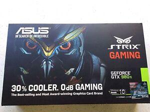 Asus Strix GTX 980ti Nvidia Graphics Card Smithfield Cairns City Preview