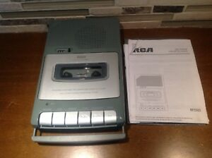 RCA Personal Cassette Tape Player / Recorder Portable