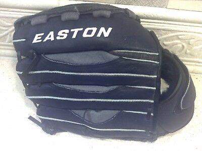 Easton Schwarz Leder 12.5 APS125 Alpha Vrs Palm Polster Baseball