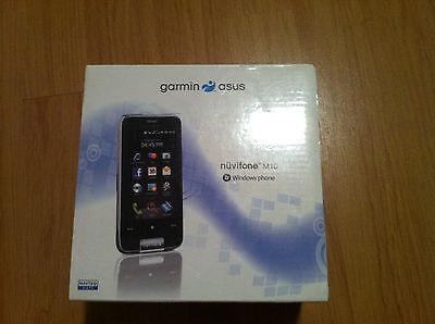 Rare Brand New Garmin Asus Nuvifone M10   4 Gb   Black  Simfree  Smartphone