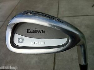 Mens-RH-Daiwa-EXCELER-6-Iron-Steel-Shaft-Stiff-Flex-Golf-Club-Standard-Grip
