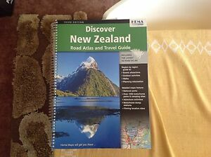 Hema New Zealand road atlas and travel guide Forrestfield Kalamunda Area Preview