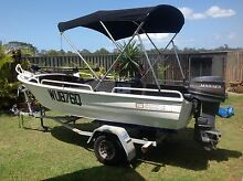 Stacer 3.8 25HP Mariner Low Hours 70lbs Water Snake, Lowrance 4HDi Wondunna Fraser Coast Preview