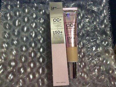 iT COSMETICS YOUR SKIN BUT BETTER CC+ ILLUMINATION COLOR CORECTING 2.53oz