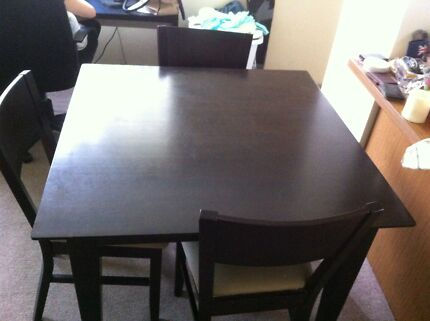 Dining table with 4 chairs for sale Centennial Park Eastern Suburbs Preview
