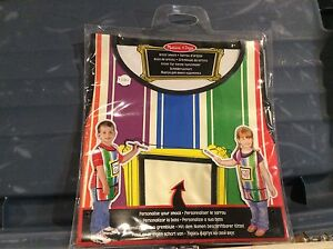 Melissa and Doug art smock brand new