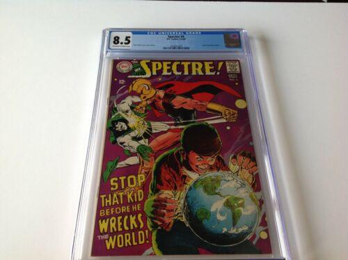SPECTRE 4 CGC 8.5 NEAL ADAMS COVER AND ART KLAUS JANSON LETTER DC COMICS