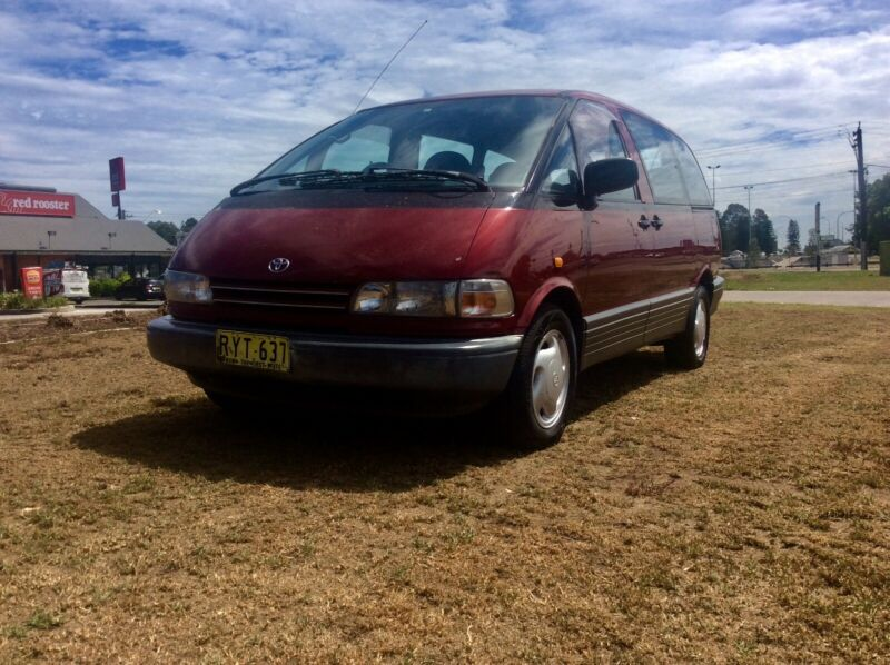 1991 Toyota Tarago 4wd 4 Cyl Auto 7 Seat Excellent Condition