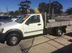2003 HOLDEN RODEO TRAY BACK UTE, PETROL AND GAS. Wangara Wanneroo Area Preview