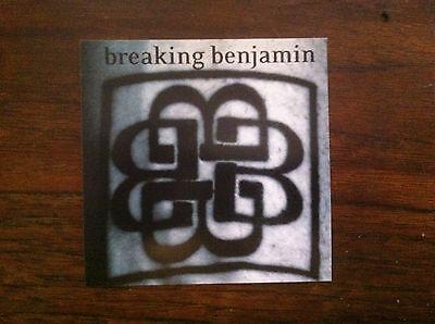 Breaking Benjamin promo sticker for 2004 cd release RARE sticker
