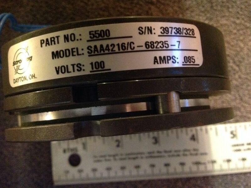 Brake Magnetic Motor Brake Stromag PN 5500  Model SAA4216/C-68235-7