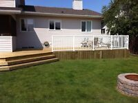 Deck or Fence Built