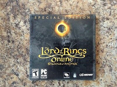 Lord of the Rings Online: Shadows of Angmar (PC,