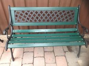 Heritage garden benches St Peters Marrickville Area Preview
