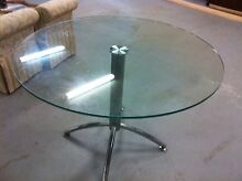 Ikea round glass eating / dining table Croydon Burwood Area Preview