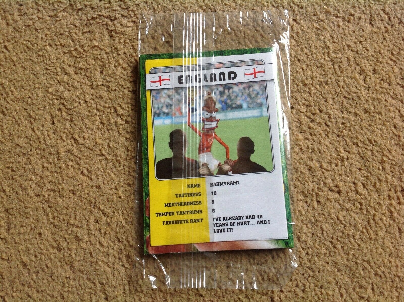 Peperami Fanimal Football Stickers brand new in pack world cup 2006 promotional