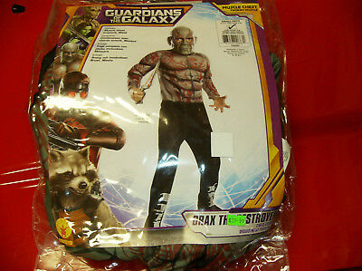 MARVEL GUARDIANS OF THE GALAXY DRAX THE DESTROYER CHILD HALLOWEEN SMALL * - Drax The Destroyer Halloween