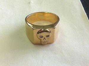 9ct Gold Mens Skull Ring with DIamonds Bunbury Bunbury Area Preview