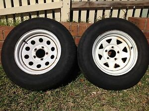 Sunraysia wheels, trailer wheels, ford stud pattern Narellan Vale Camden Area Preview