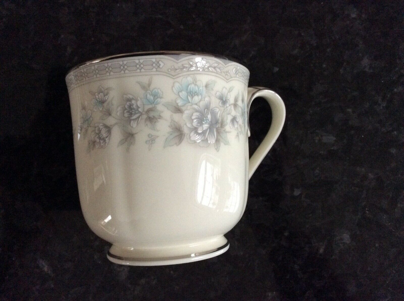 Noritake Buena Vista Coffee Cup With Saucer Bone China 9728 Mint Condition  - $5.00