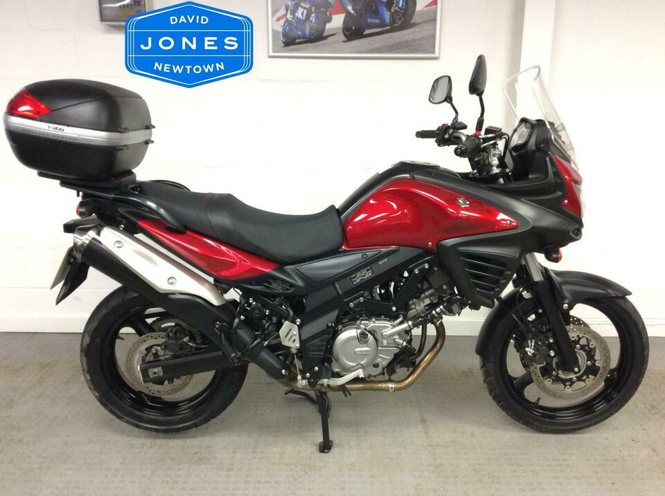 Suzuki DL650 AL4 V-Strom 2014 / 14 Red - Low mileage