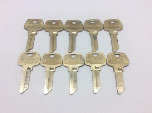 Sargent brand key blanks, set of 10, LE keyway, locksmith