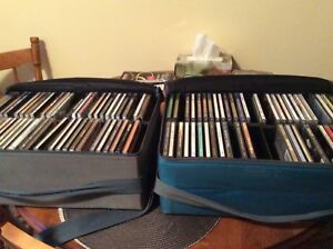 Various CD'S with 2 soft sided cases