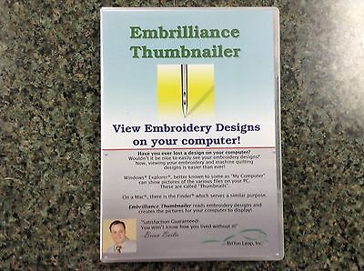 Embrilliance Density Repair Kit Pro Embroidery Software for Mac /& PC