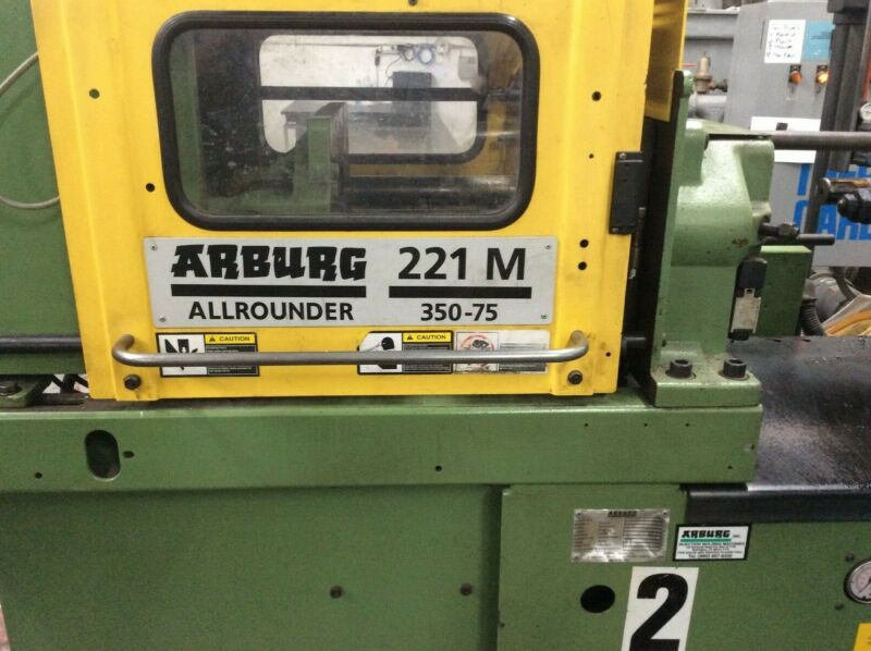 1997 Arburg 221-M350-75 Allrounder - Parting Out
