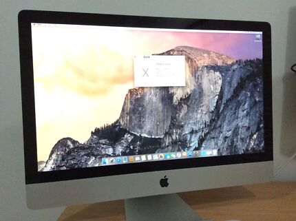 Apple iMac 27-inch 3.06 GHz 4GB RAM 1TB HD - IMMACULATE CONDITION Parramatta Park Cairns City Preview