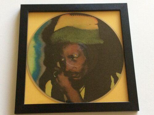 Bob Marley picture disc Marley framed