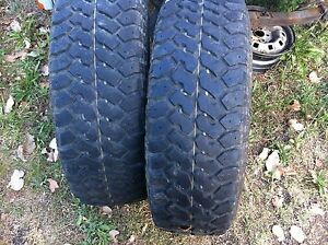 4x4 tyres 2 x 265/75/16LT 80% tread North Tivoli Ipswich City Preview