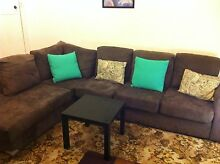 Grey modular lounge 4-5 seater Brunswick East Moreland Area Preview