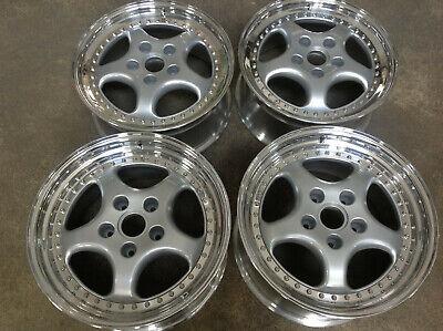 new set of 4 RH 3.6 speedline style 3-piece 18