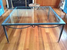 Glass top coffee tables Hampton Bayside Area Preview