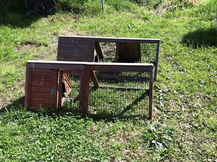 Rabbit hutches x 2 Austral Liverpool Area Preview