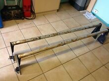 roof rack alloy bars landrover discovery 4x4 4wd wagon Loganholme Logan Area Preview
