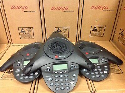 Lot Of 3 Polycom Soundstation2 Expandable 2201-16200-601 Conference Phone