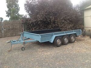 Tri Axle Trailer 14x8 refurbished Maiden Gully Bendigo City Preview