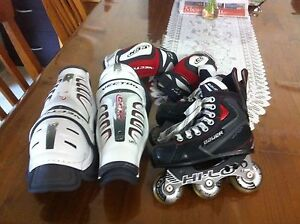 Bauer roller blades kids size 12 Greenwith Tea Tree Gully Area Preview