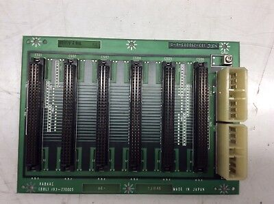 Sanyo / NEC 6-Slot Base PC Board, (BBL) 193-230005, 193-250005-A-01, Used