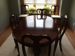 Cherry French provincial dining set