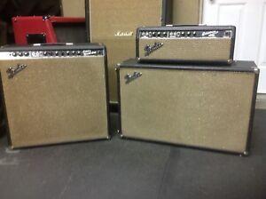 1966 Fender super reverb / 1966 Fender bassman